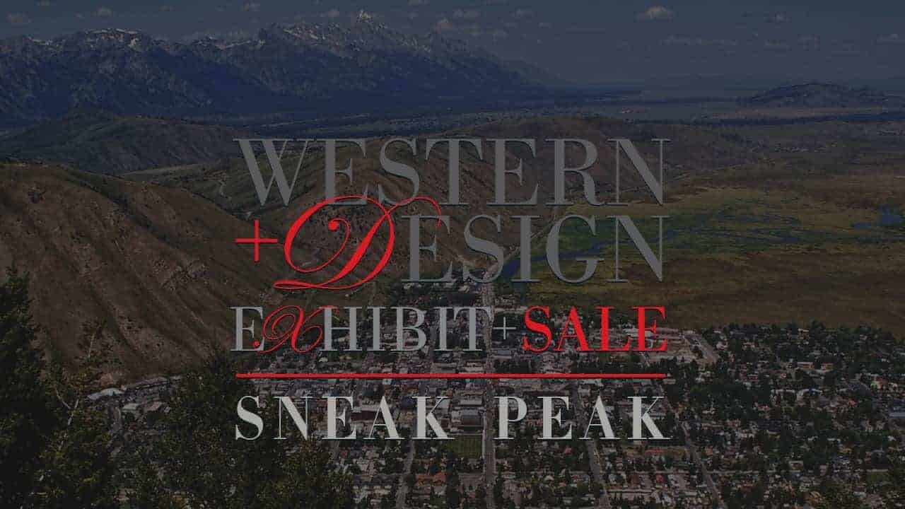 Western Design Conference Exhibit + Sale Sneak Peak