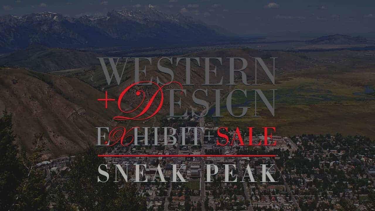 Western Design Conference Exhibit + Sale Sneak Peak