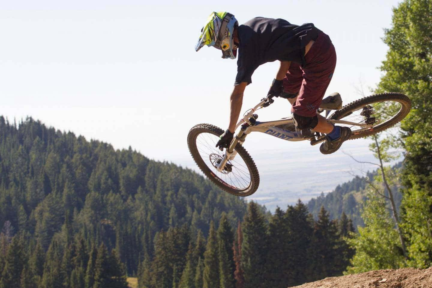 Wydaho Rendezvous Wall Ride Tabletop Gap Jump