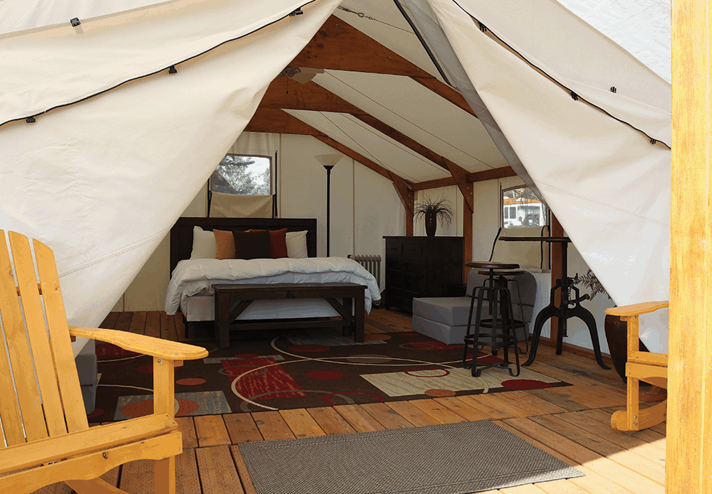 Teton-Valley-Resort-Glamping-Wall-Tent